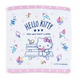 Hello Kitty Wash Towel: Icecream