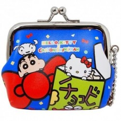 Hello Kitty Coin Purse B X Crayon Shinchan
