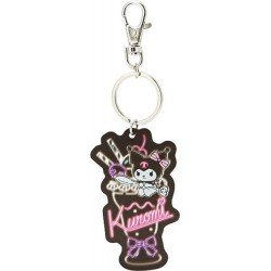 Kuromi Key Chain: Cafe