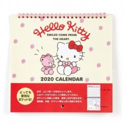 Hello Kitty Wall Calendar W/Pocket 2020
