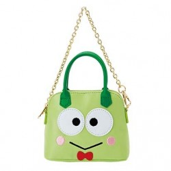 Keroppi Bag Charm: Mini Boston