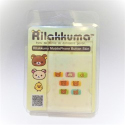 Rilakkuma Button Sticker