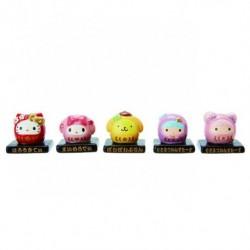Assorted Characters Ceramic Mascot: Lucky Daruma