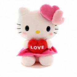 Hello Kitty 8 Inch Plush: Valentine