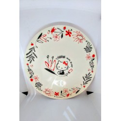 Hello Kitty Melamine Plate