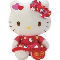 Hello Kitty 8 Inch Plush Valentine