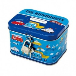 Runabouts Tin Coin Bank