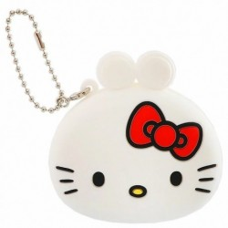 Hello Kitty Silicon Purse Key Chain: