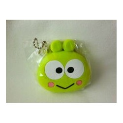 Keroppi Silicon Purse Key Chain: