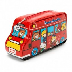 Assorted Characters Pen Pouch: Red Bus