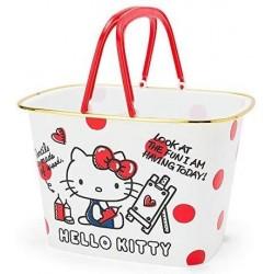 Hello Kitty Plastic Basket