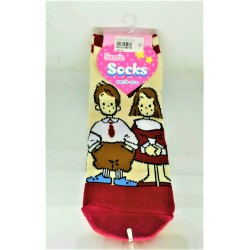 Assorted Characters Socks: Adult