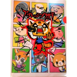 Aggretsuko Clear File: Karaoke
