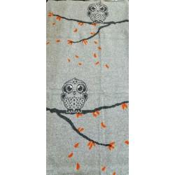 BABU Cotton Blanket Small owl