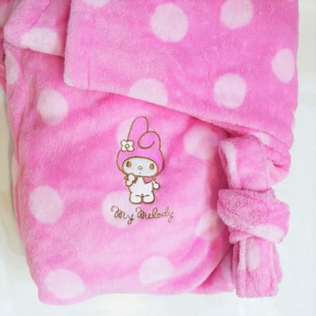 My Melody Adult Bath Robe Dot