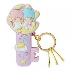 Little Twin Stars Key Holder with Clip: