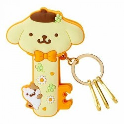Pompompurin Key Holder with Clip: