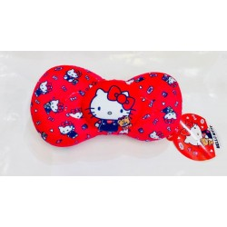 Hello Kitty Head Neck Rest Cushion Red