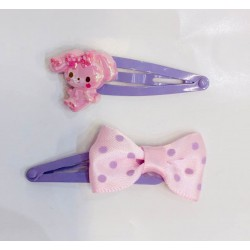 Bonbon Ribbon Hair Clips: Ribbon