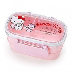Hello Kitty 2-Tier Lunch Box:Strawberry