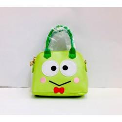 Keroppi Bag Charm: Mini Boston