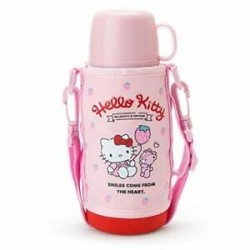 Hello Kitty 2-Way Stnlss Bottle: Str
