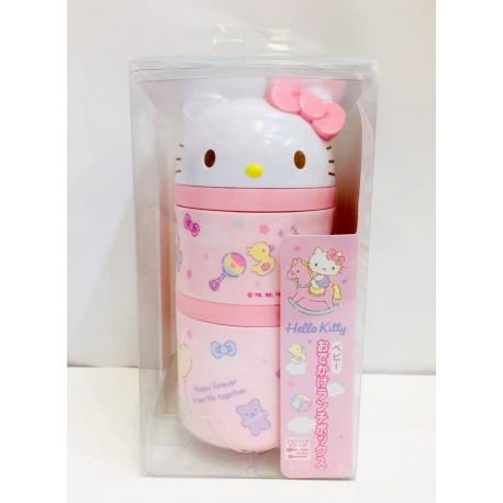 Hello Kitty Die Cut 2-Tier Lunch Box