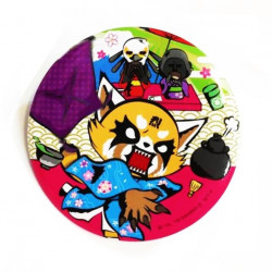Aggretsuko Badge:
