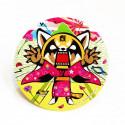 Aggretsuko Badge: