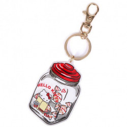 Hello Kitty Key Chain: Candy Retouch