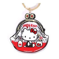 Hello Kitty Key Chain: Purse Retouch