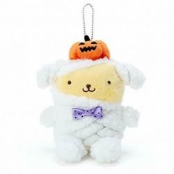 Pompompurin Key Chain with Mascot: Halloween