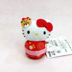 Hello Kitty Daruma Plush: Super Small