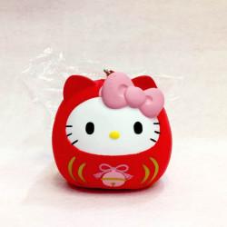 Hello Kitty Daruma Squeeze Mascot: