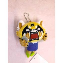 Aggretsuko Key Chain with Mascot: