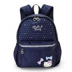 Hello Kitty Backpack: Medium Navy Dot
