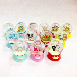 Assorted Characters Christmas Snow Globe: Small