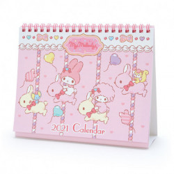 My Melody Desk Calendar: 2021
