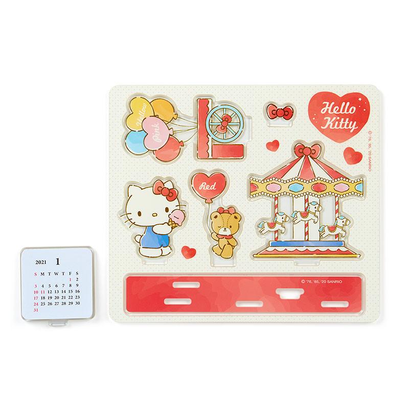 Hello Kitty Acrylic Calendar: 2021 - The Kitty Shop