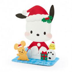 Pochacco Christmas Card: Jx 87-0