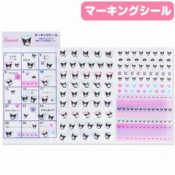 Kuromi Marking Stickers: 20