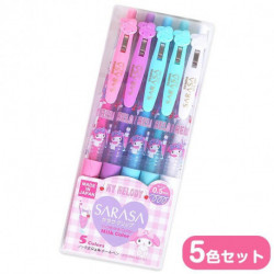 My Melody 5pcs Ballpoint Pen Set:
