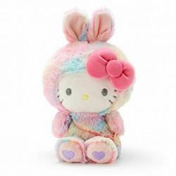 Hello Kitty Plush: Medium Rainbow