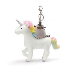 Pusheen Deluxe Clip: Fancy On Unicorn