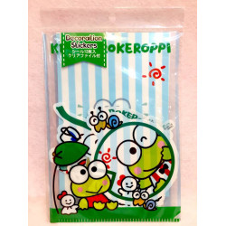 Keroppi Room Deco Stickers&File: