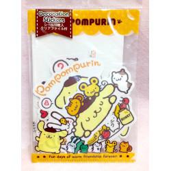 Pompompurin Room Deco Stickers&File: