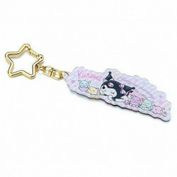 Kuromi Acrylic Key Chain: