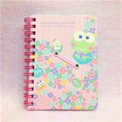 Keroppi B7 Notebook: Hydrangea