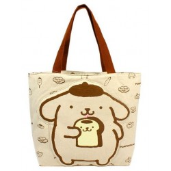 Pompompurin Hand Bag: Eating