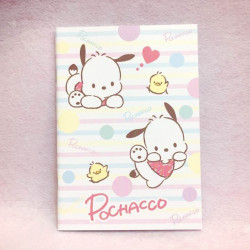 Pochacco A5 Notebook: Pastel